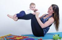 Yoga avec bébé - Michelle et Tyler
